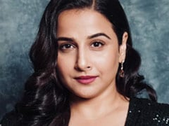 Vidya Balan Got All Dressed Up To... Wait For It... Just Sit At Home