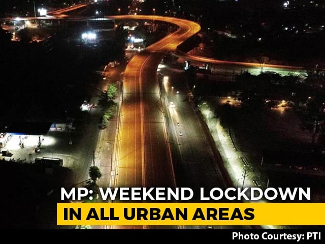 Video : Lockdown In Madhya Pradesh Urban Areas From 6 pm Tomorrow To 6 am Monday