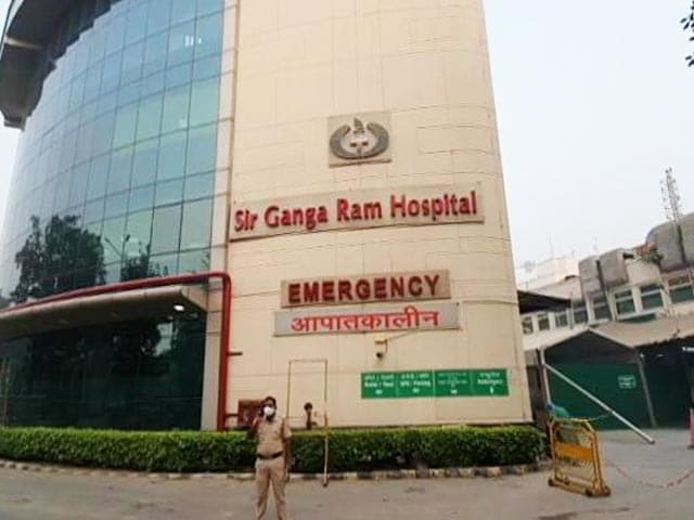 """Video : """"25 Sickest Patients Have Died"""": After Ganga Ram Hospital SOS, 2 Versions"""