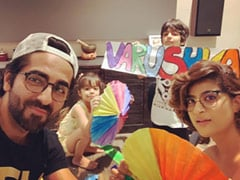 Ayushmann Khurrana's Wish For Birthday Girl Varushka Arrived Like This