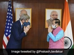 US Special Envoy John Kerry, Prakash Javadekar Discuss Climate, Finance