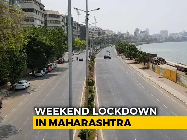 Deserted Roads, Stricter Police Vigilance As Maharashtra Starts Weekend Lockdown