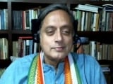 Video : Shashi Tharoor: Equivalent Of Trinamool In Bengal Is CPM In Kerala