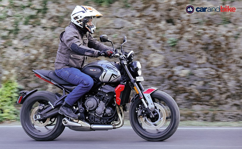 The Triumph Trident 660 is the most affordable Triumph motorcycle at Rs. 6.95 lakh