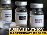 Video : Sputnik 5 Vaccine For Use In India To Be Discussed At Key Meet Today