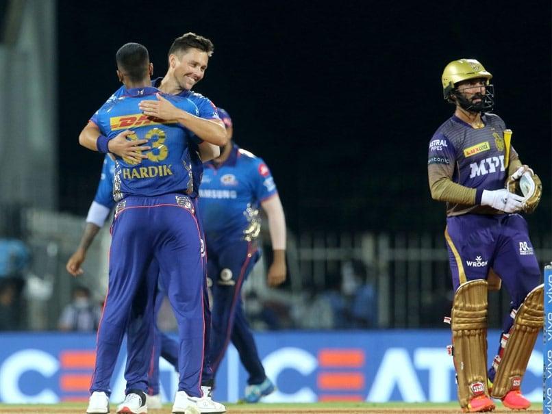 KKR vs MI: Rahul Chahar's Four-Wicket Haul Helps Mumbai Indians Beat Kolkata Knight Riders By 10 Runs | Cricket News