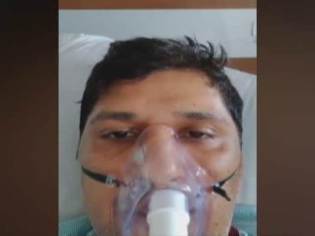 """Video : """"3 Hours of Oxygen Left"""": AAP Leader's SOS From Hospital Bed"""