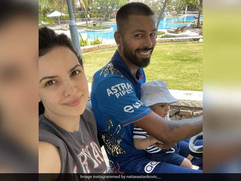 IPL 2021: Hardik Pandya, Natasa Stankovics Day Out With Son Agastya. See Pics