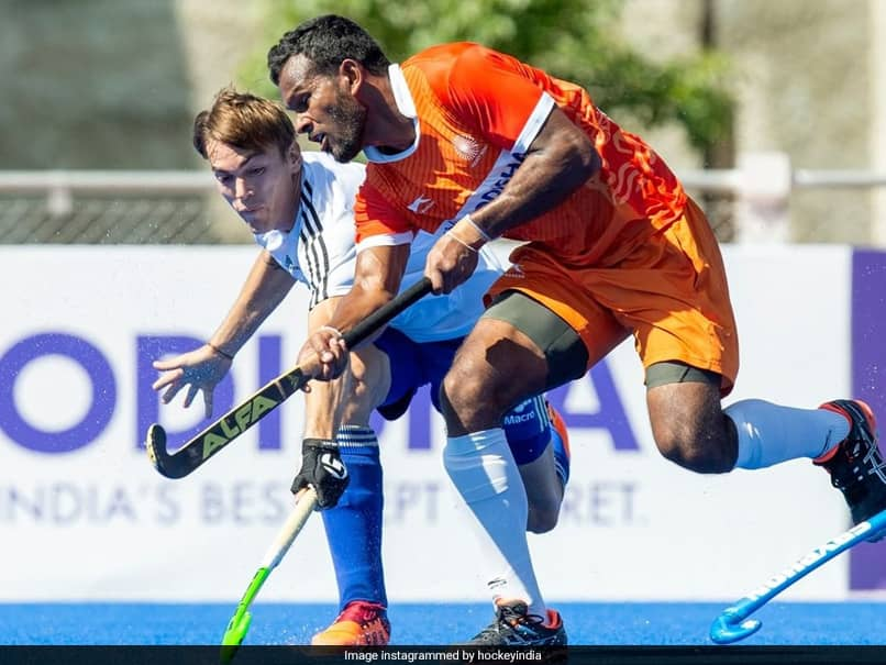 India Mens Hockey Team Beat Argentina 4-3 To Start Tour On Winning Note