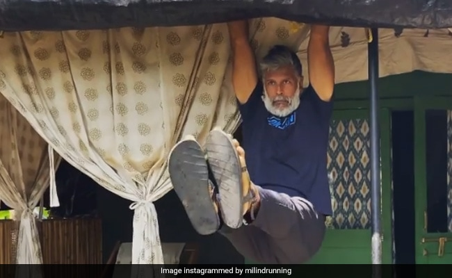 Milind Soman Can Work Out Anywhere And Everywhere, 'Even In A Tent'