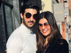 On Sushmita Sen's Silhouette Pic, A Special Mention For Beau Rohman Shawl
