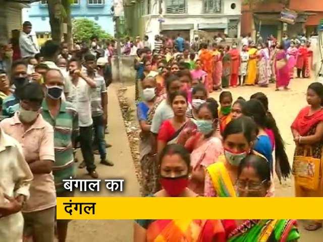 Videos : बंगाल में 44 सीटों पर वोटिंग जारी, EVM में कैद होगी बाबुल सुप्रियो समेत अन्य दिग्गजों की किस्मत