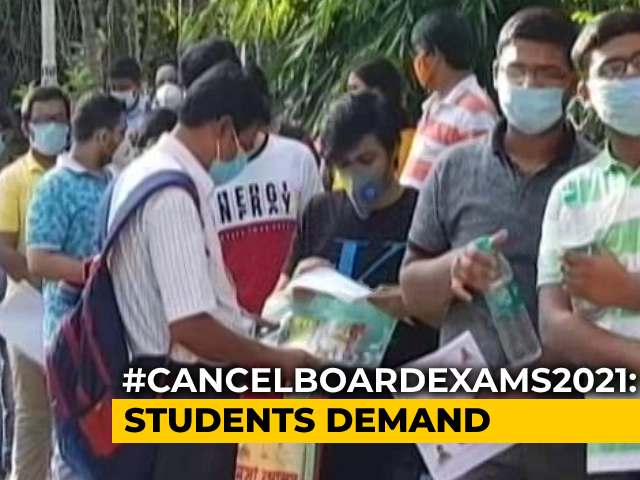 Video : Thousands To Appear For Offline Exams Amid Covid Surge
