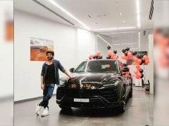 Actor Kartik Aaryan Brings Home The Lamborghini Urus