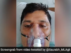 """""""3 Hours of Oxygen Left"""": AAP Leader's SOS From Hospital Bed"""