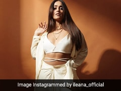 Ileana D'Cruz Can't Help Chasing The Light In Breezy Crop Top Set That's Fit For Summer