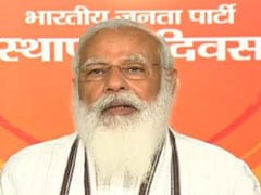 """""""Nation Is Bigger Than Party"""": PM Modi To Party Workers On Foundation Day"""
