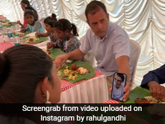 Watch: Rahul Gandhi's Traditional Easter Meal With Kids In Kerala Was A Scrumptious Affair