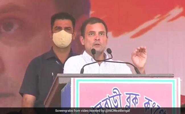 'BJP Never Calls For Trinamool-Mukt Bharat': Rahul Gandhi's Dig In Bengal
