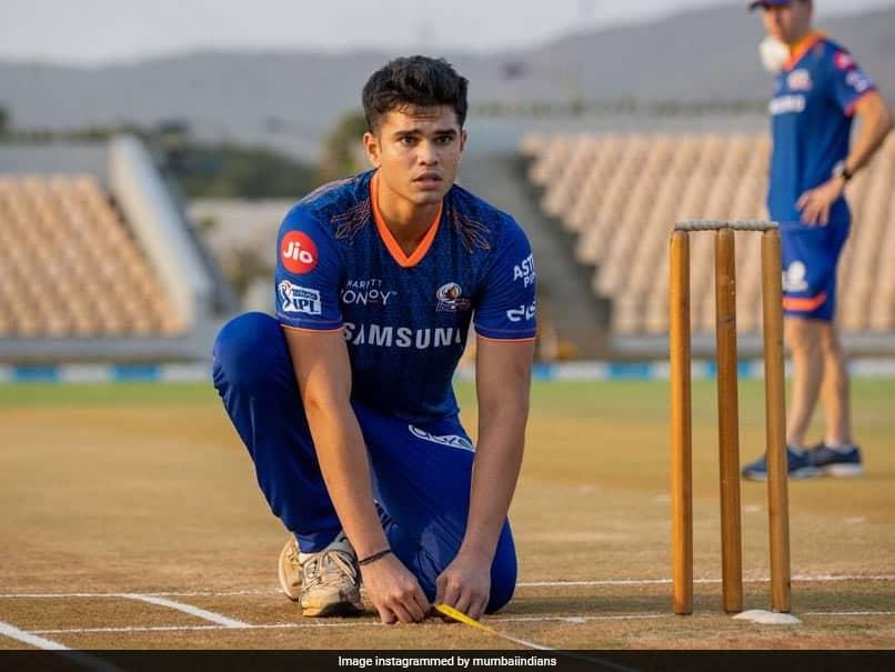 "IPL 2021: Arjun Tendulkar Poses With ""Mumbai Trio"" In Mumbai Indians Jersey. See Pic"