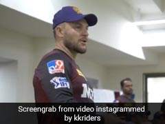 """IPL 2021: Coach Brendon McCullum Wants KKR To Get """"Tighter And Tighter As A Unit"""""""