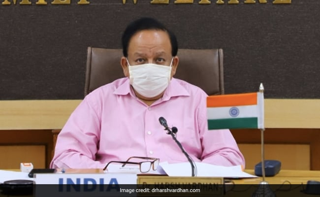 """Hue And Cry By Certain States..."": Harsh Vardhan On Vaccine Divide Charge"