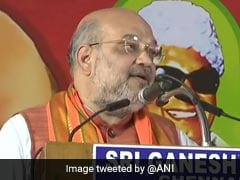 """Surprised Stalin Is Speaking Against Corruption"": Amit Shah In Tamil Nadu"