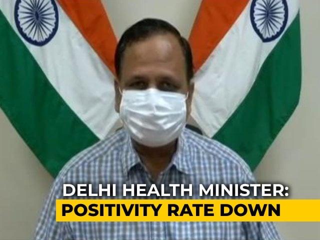 Video : Fall In Covid Cases Seem Direct Result Of Lockdown: Delhi Health Minister