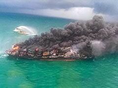 Sri Lanka Launches Probe After Burning Ship Leads To Pollution Crisis