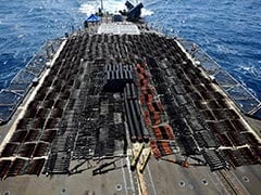 US Navy's 5th Fleet Seizes Weapons Shipment From Stateless Dhow In Arabian Sea
