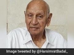 Raghunandan Lal Bhatia, Six-Time Congress MP From Amritsar, Dies At 100