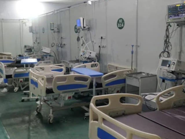 Video : As Covid Graph Declines, Vacant Hospital Beds Increase In Delhi