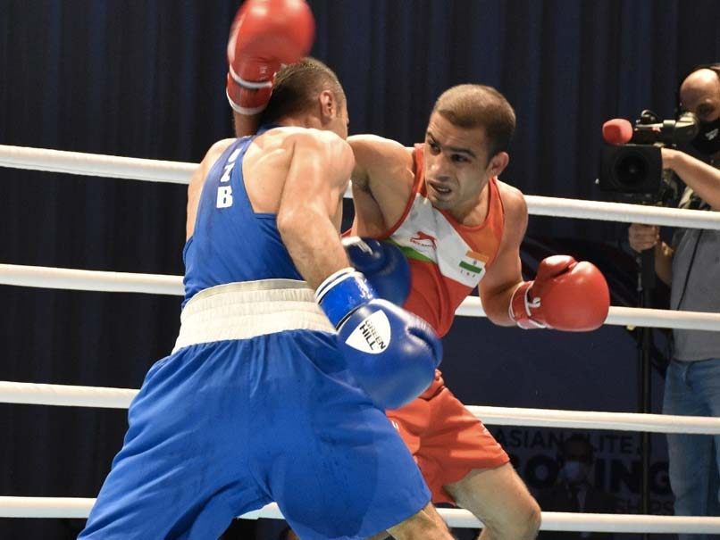 Asian Boxing Championship: Indian Amit Panghal's review of 52kg loss rejected by jury |  Boxing News