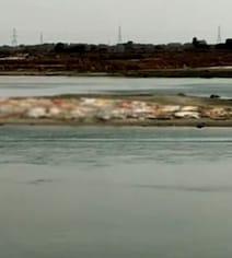 Bodies Found Buried In Sand By Ganga River In Uttar Pradesh's Unnao