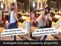 सरदार जी ने धमाकेदार अंदाज में किया भांगड़ा, IPS बोला- 'पत्नी के क्वारंटाइन होने के बाद वाला जश्न' - देखें मजेदार Video