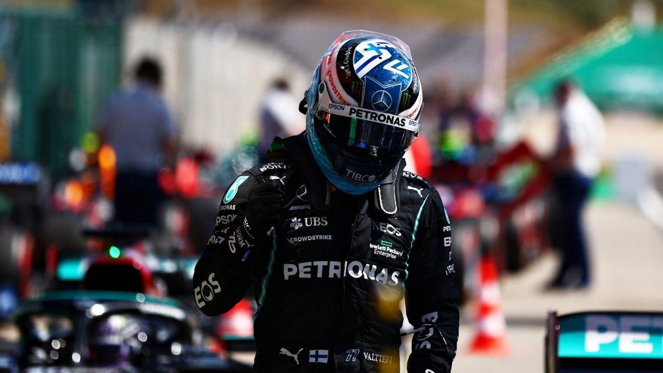 Bottas Steals Pole At Portimao To Deny Hamilton 100th Pole - Pundit Ji