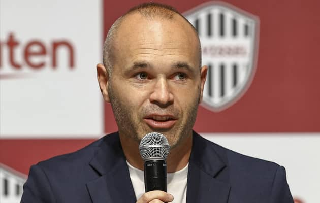 Andres Iniesta To Stay With Japans Vissel Kobe For Two More Years