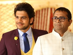 """Actor Bhavya Gandhi Shares Pic With His """"Hero""""- Father Who Died Of COVID"""