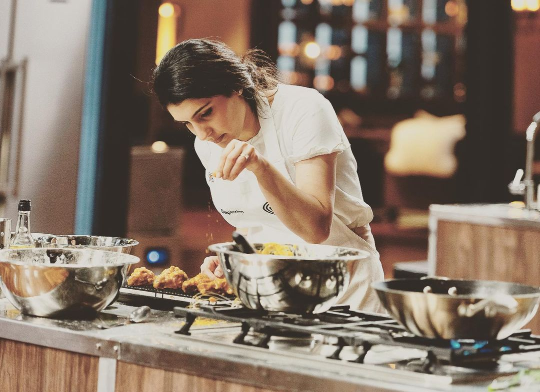 Viral Now: Indian Masterchef Contestant Depinder Makes Unique Green Curry Cake