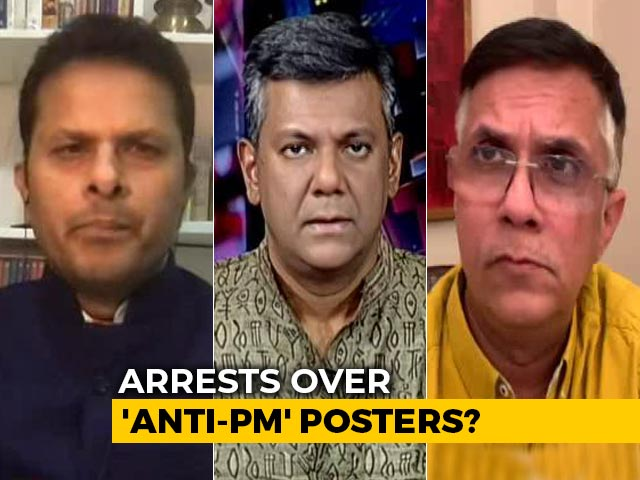 Video : Arrests Over 'Anti-PM Posters': Congress Leaders Dare Government
