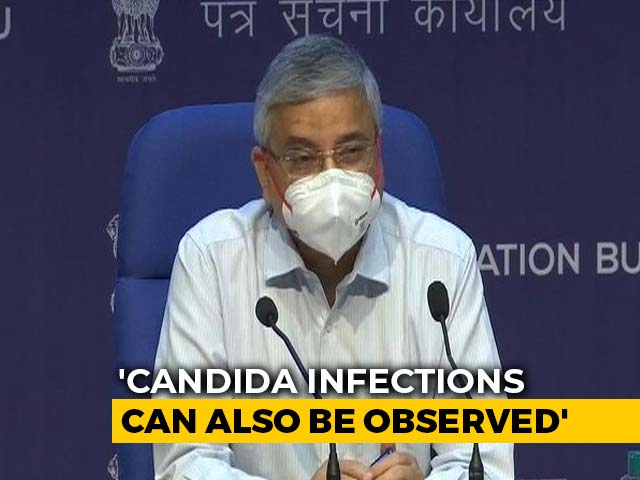 """Video : Amid Report Of 'Yellow Fungus' Case, AIIMS Chief Warns Of """"Confusion"""""""