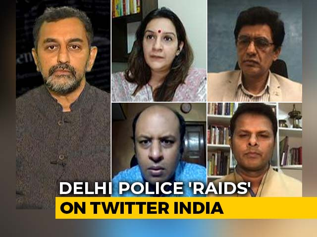 Video : Twitter 'Raided' After Calling Out BJP Leaders?