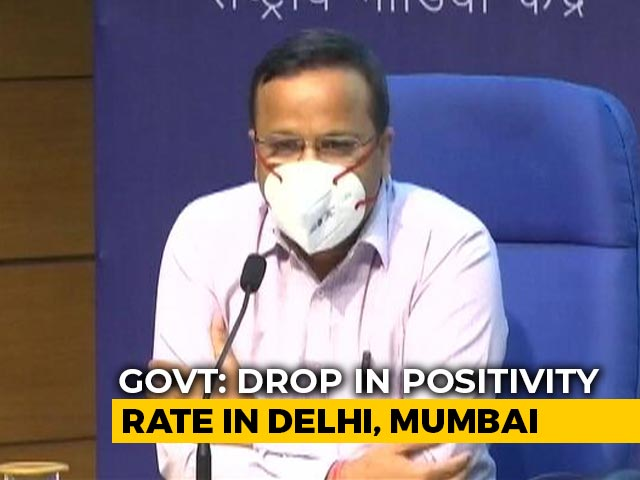 Video : Overall Positivity Rate Of India At 19.8 Per Cent, Says Health Ministry