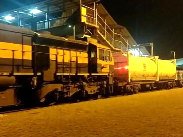 Video : Punjab: 'Oxygen Express' To Carry Supply From Bokaro