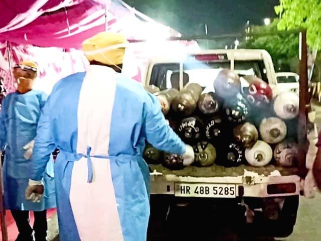 Video : Oxygen Langar In A Ghaziabad Gurdwara Saves Lives