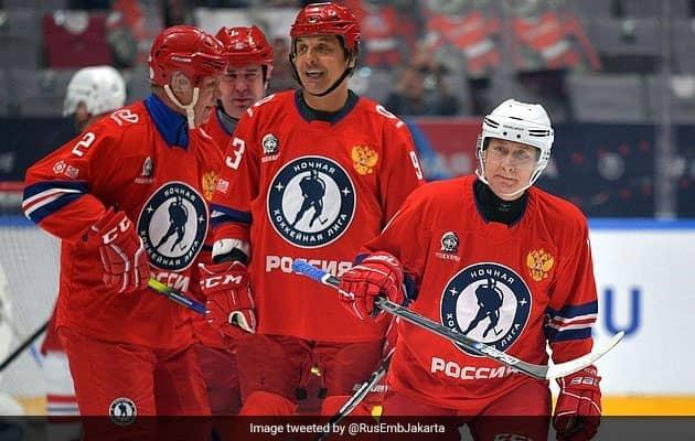 Watch: Vladimir Putin Scores 8 Goals In Ice Hockey Gala Match