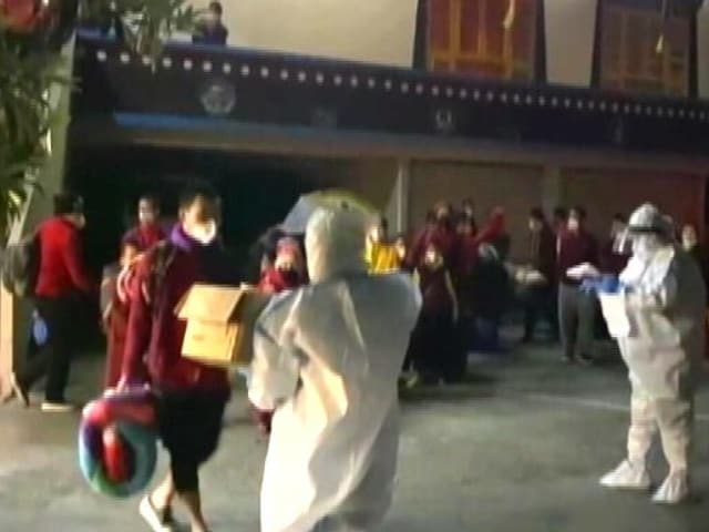 Video : Sikkim Government Monitoring Monasteries For Covid Cases