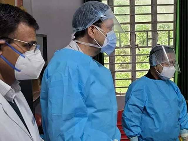 Video : Sikkim Chief Minister Wears PPE To Boost Morale Amid Covid Spike