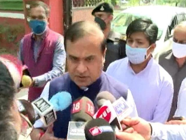 Video : Himanta Sarma Ahead In Assam Race, Say Sources; Key BJP Meet Tomorrow