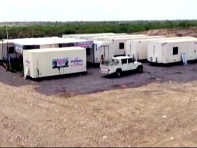 Video : Covid Care Centres Set Up, Almost Overnight, In Rajasthan Desert